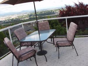 Outdoor Deck Furniture Set