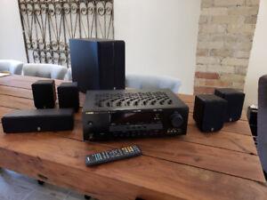 Yamaha HTR - 6030 Digital Home Theatre  + Yamaha P270 100W SW ++