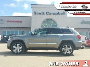 2013 Jeep Grand Cherokee Overland (Lloyd, Saskatoon, Battleford)