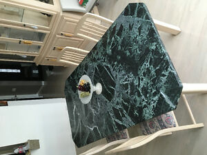 Marble dining room table AND CHAIRS!