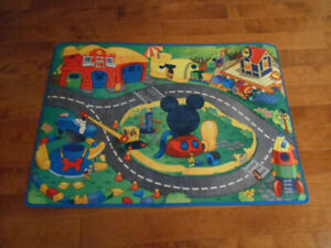 TAPIS ENFANT MICKEY MOUSE
