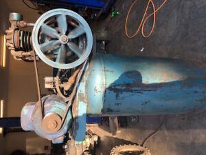 60 Gallon Brunner Air Compressor Industrial