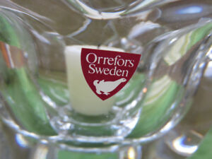 Orrefors Crystal - Tulip Bowl / Candle Holder