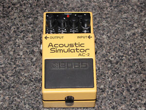 BOSS AC-2 ACOUSTIC SIMULATOR FOR BOSS NS-2
