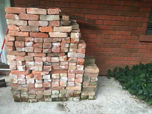 Red clay reclaimed brick