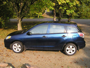 TOYOTA MATRIX 140,000 KMS-CERTIFIED-ETESTED-NO RUST