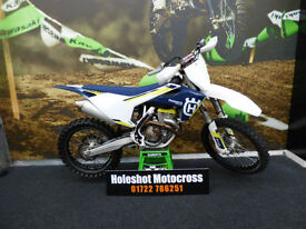 Husqvarna FC 350 motocross bike Completely stock machine 2016
