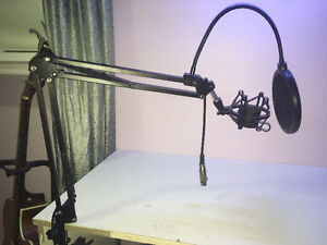 Microphone Stand with Shock Mount