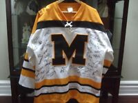 2011 CANADA WINTER GAMES WOMENS/MENS SIGNED JERSEY