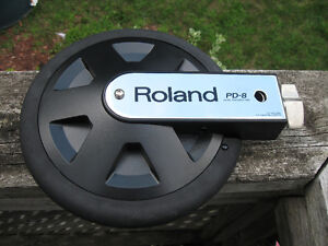Roland PD-8 Solid Rubber dual trigger drum pad $50 PD8 Kitchener / Waterloo Kitchener Area image 2