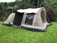 Outwell Niagara 5 Person Tent for Sale. Living room carpet & porch poles included.