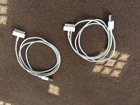 Apple charging cables (genuine product)