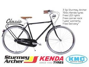 NIXEYCLES Classic City Bicycle - 3 Speed   Free Delivery* Sydney City Inner Sydney Preview