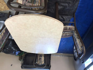 Laminate Table and 4 Chairs