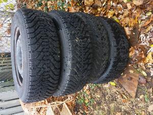 Winter tires and rims Cambridge Kitchener Area image 2