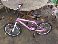 Probike Hawaii Pink BMX Bike 20in Wheels Good Condition