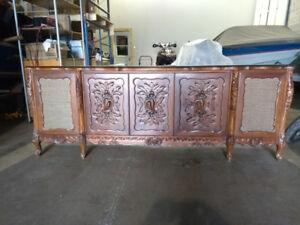 meuble radio antique