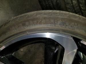 245/40R19 Eagle touring pneus