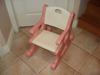 Chaise rose Little tykes