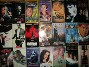 Box of 35 VHS movies West Island Greater Montréal image 1