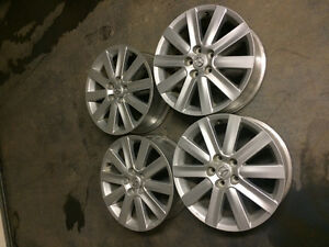 Mazda6 18 inch alloy wheels in excellent condition