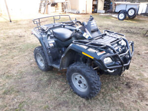2006 can am/ bombardier 800 outlander $4800