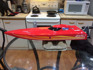 4s brushless boat  just add rx tx An bat