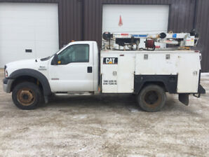 2005 Ford F450 mechanic service truck