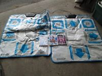WII DANCE MATS AND GAMES