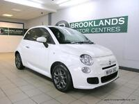 Fiat 500 1.2I S S/S [SERVICE HISTORY, LEATHER, LOW MILES and 30 ROAD TAX]