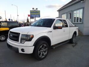 2013 Ford F-150 4WD SuperCab 145""