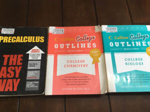 Lot of 3 College Prep Course Manuals