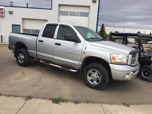 2006 Dodge Quad Cab 3500 SLT 4X4 Diesel  *New Transmission*
