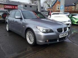 BMW 5 SERIES 535D SE TOURING, Grey, Auto, Diesel, 2006