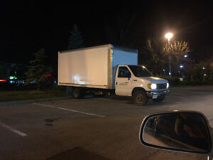 2004 Ford e-450 cube truck 16 ft