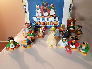 Disney Club Penguin pvc figurines