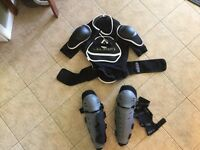 Adult Body, Knee and Shin Armour Size Large