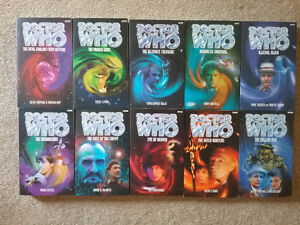 Doctor Who novels (Past Doctor Adventures)(#1-52)