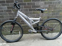 Spares or repair silver bike
