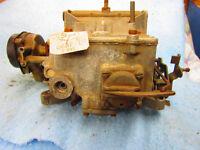 289 Ford Engine Heads. Autolite Carburetor. Original 1967 Bumper