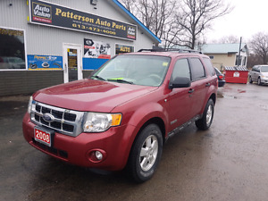 2008 ford escape 4x4 only 145k certified etested