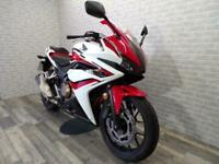 2018 (68) HONDA CBR500 RA WITH ONLY 4794 MILES FROM NEW FOR SALE