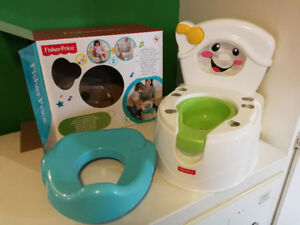 Petit pot toilette d'apprentissage Fisher price