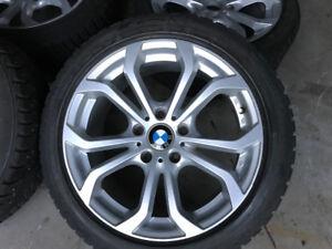 Bmw mag 17 + pneus hiver 205 50 17