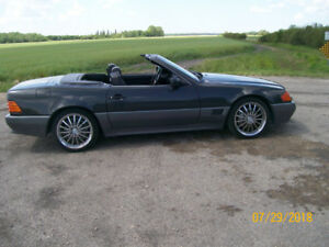 1991  MERCEDES 500 SL ROADSTER