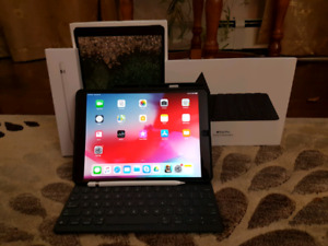 "LIKE NEW iPad Pro 10.5"" 2nd gen. 512gb WiFi+Cellular + Pencil +"
