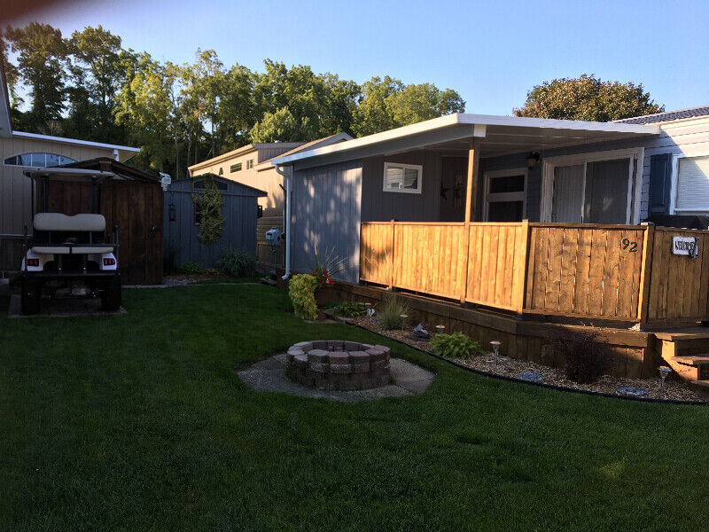 Park model trailer for sale with lake view *motivated ...