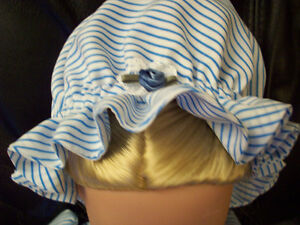 American Girl-sized Doll Clothes - Colonial Pinstripe Windsor Region Ontario image 3