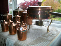 Chaffing Dish - Copper