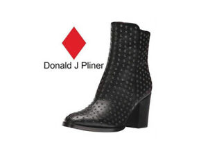NEW Donald J Pliner Women's Leather Shoes Sonomasp01 Sz8M Boots